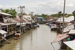 Floating market of amphawa thailand Royalty Free Stock Photos