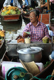 Floating Market Bangkok Royalty Free Stock Images