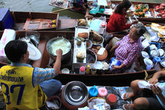 Floating Market Bangkok Royalty Free Stock Photos