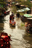 Floating Market Bangkok Stock Photo