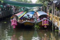 Floating market in Bangkok Stock Images