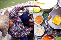 Floating market Stock Image