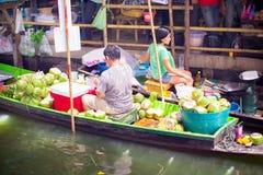 Floating market Royalty Free Stock Photo