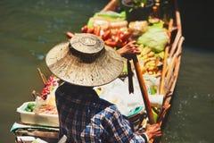 Floating market in Bangkok Stock Photography
