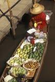 The Floating Market at Damnoen Saduak outside of Bangkok, Thailand Stock Images