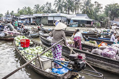 Floating market Stock Images