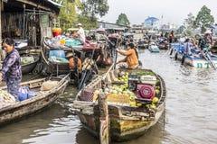 Floating market Stock Photos