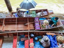 The floating market stock photos