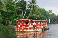 Floating market in Kerala Stock Image