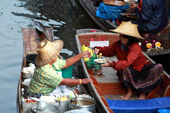 Floating market.thailand Royalty Free Stock Image