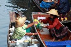 Floating market.thailand Royalty Free Stock Image