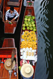 Floating market.thailand Royalty Free Stock Images