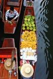 Floating market.thailand Royalty Free Stock Images