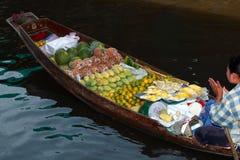 Floating market.thailand Stock Photography