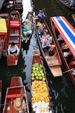 Floating market.thailand Stock Photo
