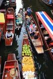 Floating market.thailand Stock Photo