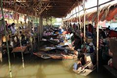 Floating Market,Thailand Royalty Free Stock Images