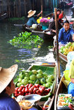Floating market, Thailand Royalty Free Stock Image