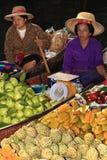 Floating market, Thailand Royalty Free Stock Photography