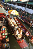 Floating market, Thailand Stock Photo