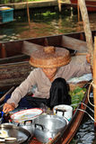 Floating Market,Thailand Royalty Free Stock Photo