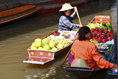Floating Market,Thailand Stock Photo