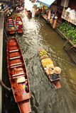 Floating Market,Thailand Royalty Free Stock Images
