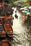 Floating Market,Thailand Stock Photo