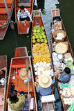 Floating Market,Thailand Royalty Free Stock Photos