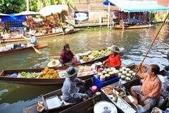 Floating Market,Thailand Stock Image