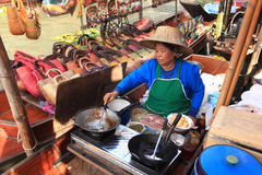 Floating Market, Thailand. Stock Photo
