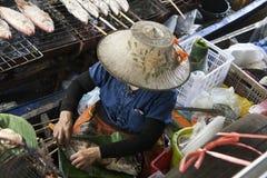 Free Floating Market, Thailand Stock Image - 45270101