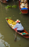 Floating market thailand royalty free stock photography
