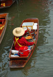 Floating market thailand stock photos