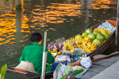 Floating  market Royalty Free Stock Photography