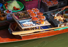 Floating market Stock Photos