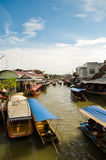 Floating market of thailand Stock Photos