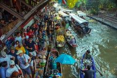 Floating market Thailand. royalty free stock photo