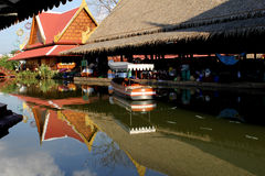 Floating Market in Thailand. Stock Photography