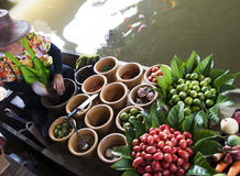 Floating market, Thailand Stock Photo