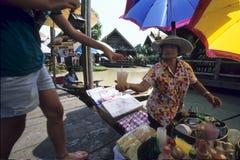 Floating market Royalty Free Stock Image