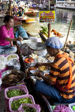 Floating Market Vendors Stock Photos