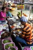 Floating Market Vendors Stock Photos