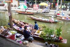 Floating markets,  Damnoen Saduak,Ratchaburi Province, Thailand Royalty Free Stock Images