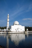 Floating Mosque Royalty Free Stock Photography