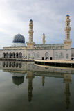 Floating Mosque In Kota Kinabalu, Sabah. Malaysia stock photo
