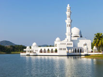 Floating mosque at Kuala Terengganu Stock Photography