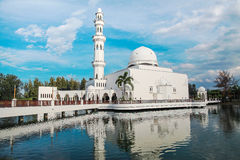 Floating Mosque in Kuala Terengganu, Malaysia Royalty Free Stock Images
