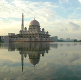 Floating Mosque, Malaysia Royalty Free Stock Photography