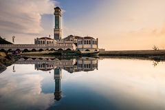 Floating Mosque Royalty Free Stock Photo